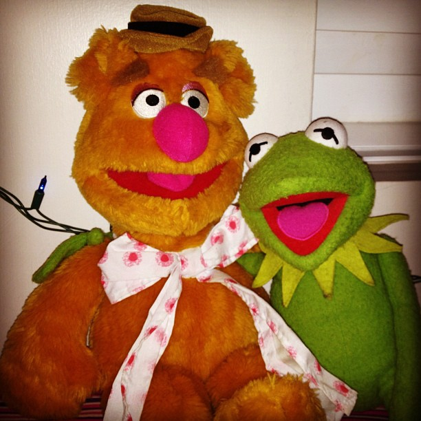 Kermit & Fozzie. (Taken with  Instagram  at Wentworth Street)
