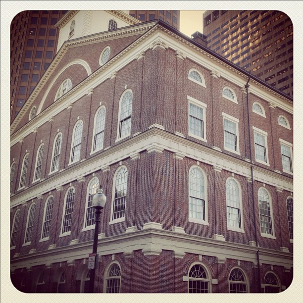 Boston. (Taken with  Instagram  at Faneuil Hall)
