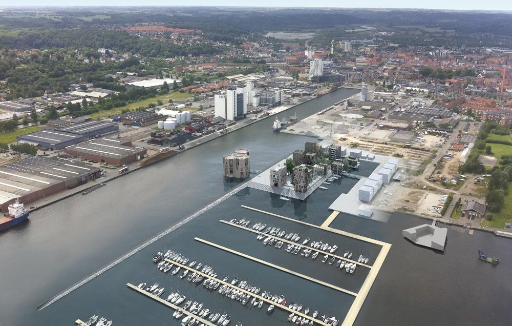 Harbour Island, Vejle, Denmark  / Lungaard & Tranberg Arkitekter