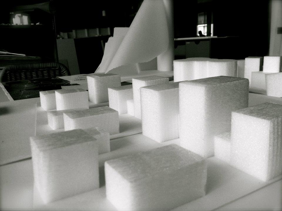 Conceptual Model / Harbour Island, Vejle, Denmark  / Lungaard & Tranberg Arkitekter