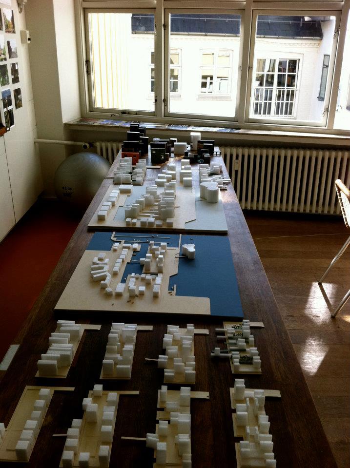 Conceptual Models / Harbour Island, Vejle, Denmark  / Lungaard & Tranberg Arkitekter