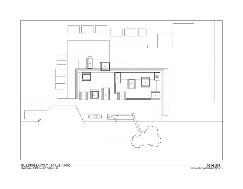 Building Layout / Harbour Island, Vejle, Denmark  / Lungaard & Tranberg Arkitekter