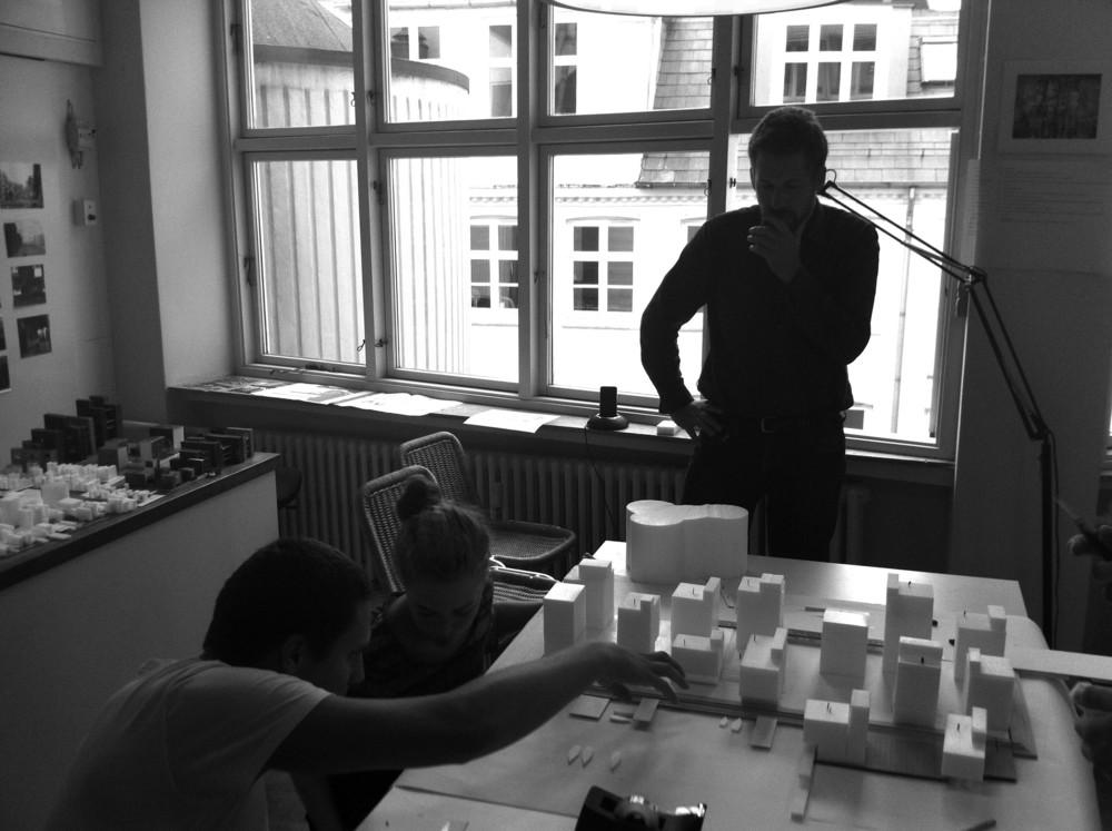 Conceptual Model Building / Harbour Island, Vejle, Denmark  / Lungaard & Tranberg Arkitekter