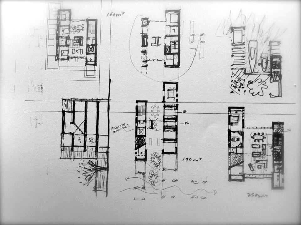 Conceptual Sketch Plans / Harbour Island, Vejle, Denmark  / Lungaard & Tranberg Arkitekter