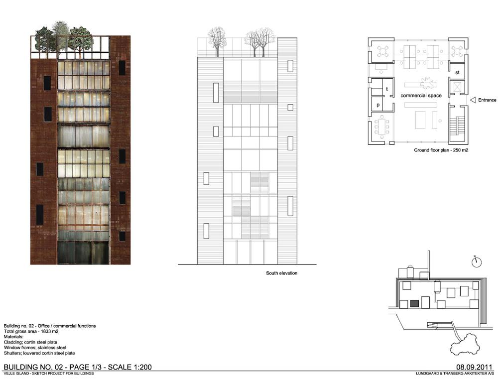 Example Building / Harbour Island, Vejle, Denmark  / Lungaard & Tranberg Arkitekter