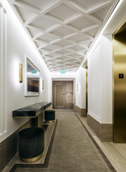 Best Corridor Design: COMMERCIAL INTERIORS
