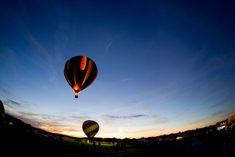 Balloons over Chautauqua