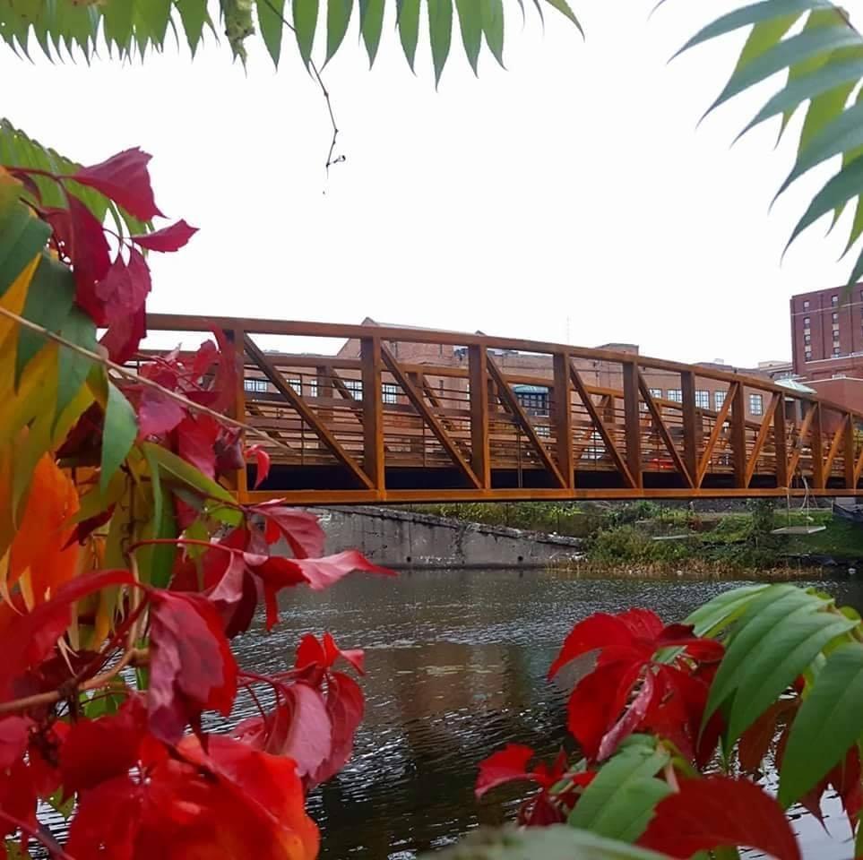 Jamestown RiverWalk - Along the Chadakoin River