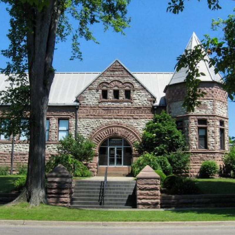 Prendergast Library, - 509 Cherry Street, 716-484-7135