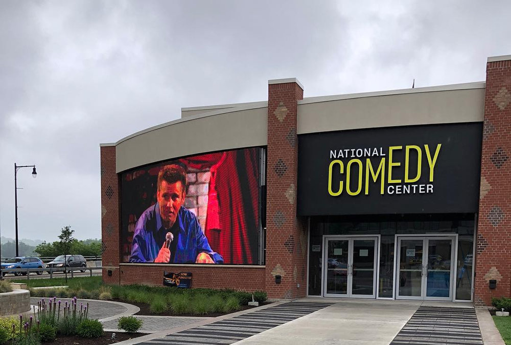 National Comedy Center - WEBSITE | FACEBOOK*Preregistration required due to limited capacity. All spots are currently filled.203 W 2nd Street, Jamestown, NY 14701