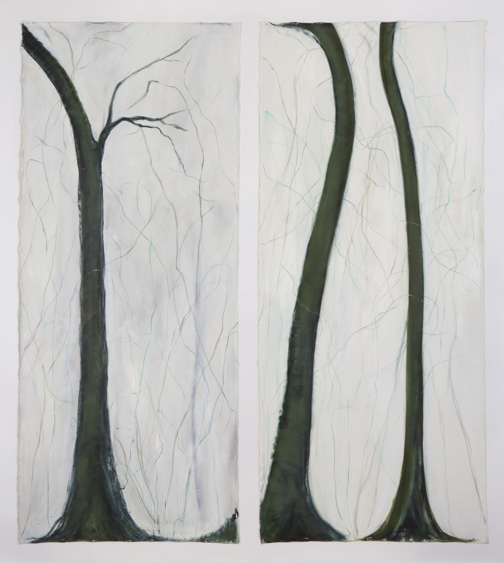 From Chabot Park 1 and 2, oil & graphite on unstretched  canvas.jpg