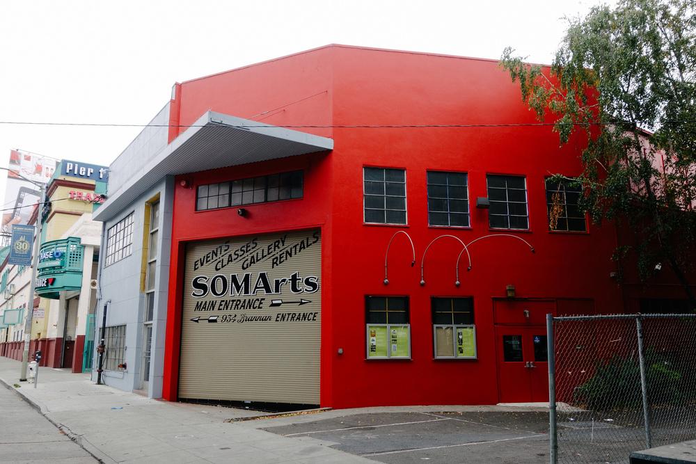 SOMArts Cultural Center, 934 Brannan Street, San Francisco, CA 94103.