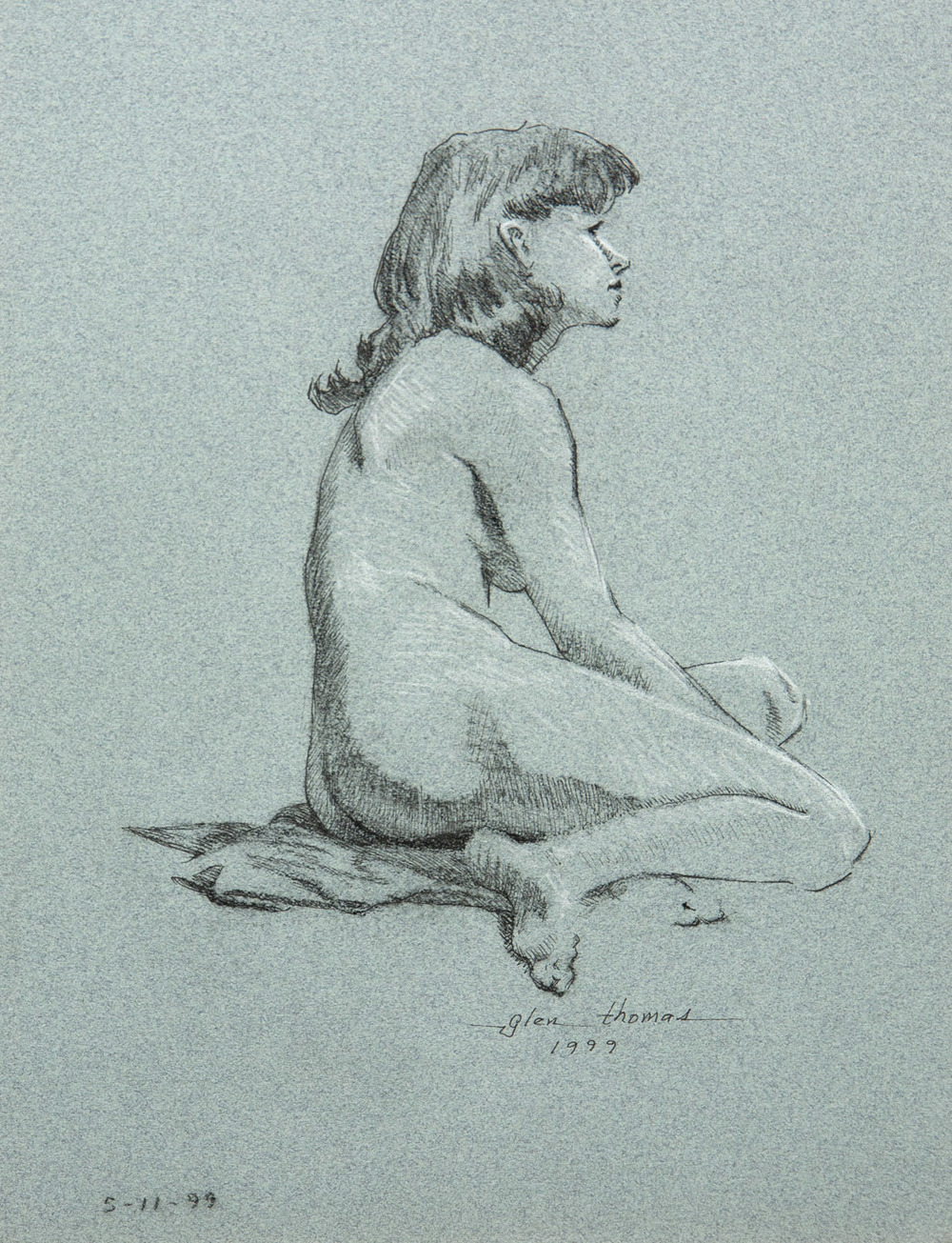 Patty, seated