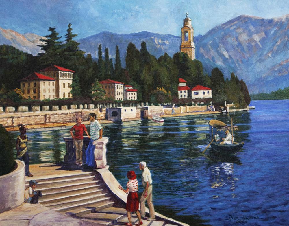 Lake Como, Italy - SOLD