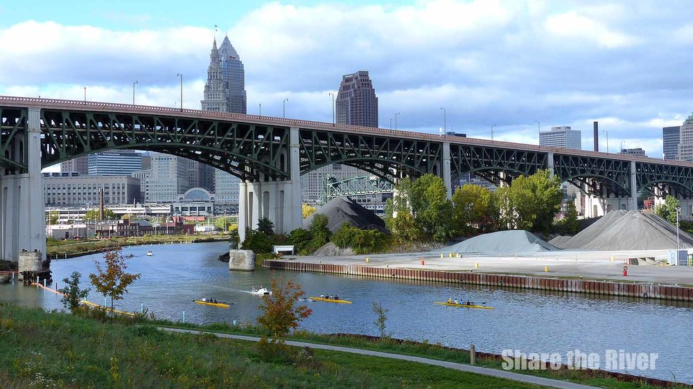 On The Eve Of The World Series A Look At The Cuyahoga River And - World famous river name