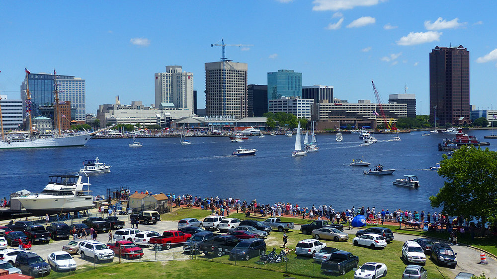 Norfolk, va/elizabeth river