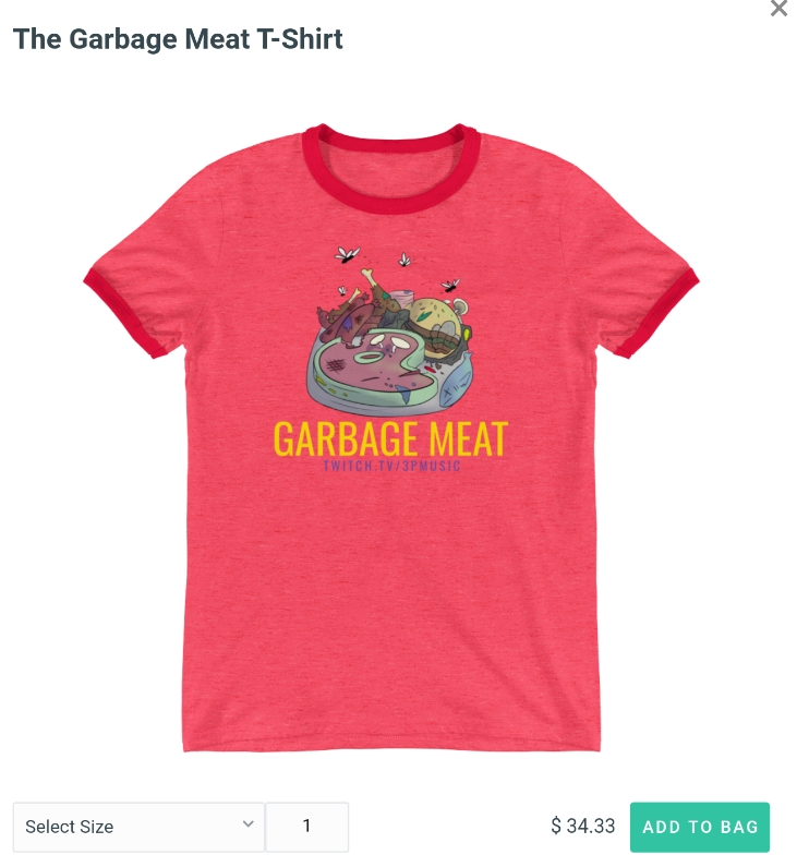 The Garbage Meat Tee