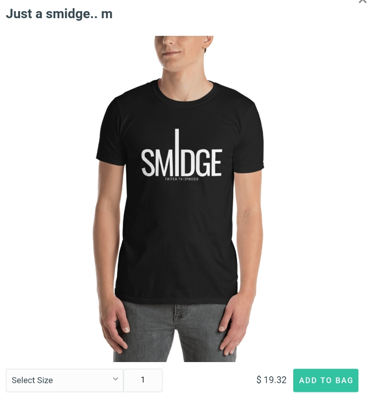 Just a Smidge Tee