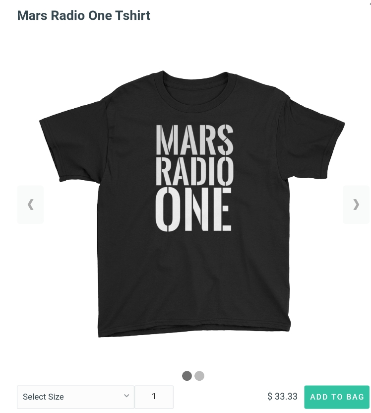 Mars Radio One T-shirt