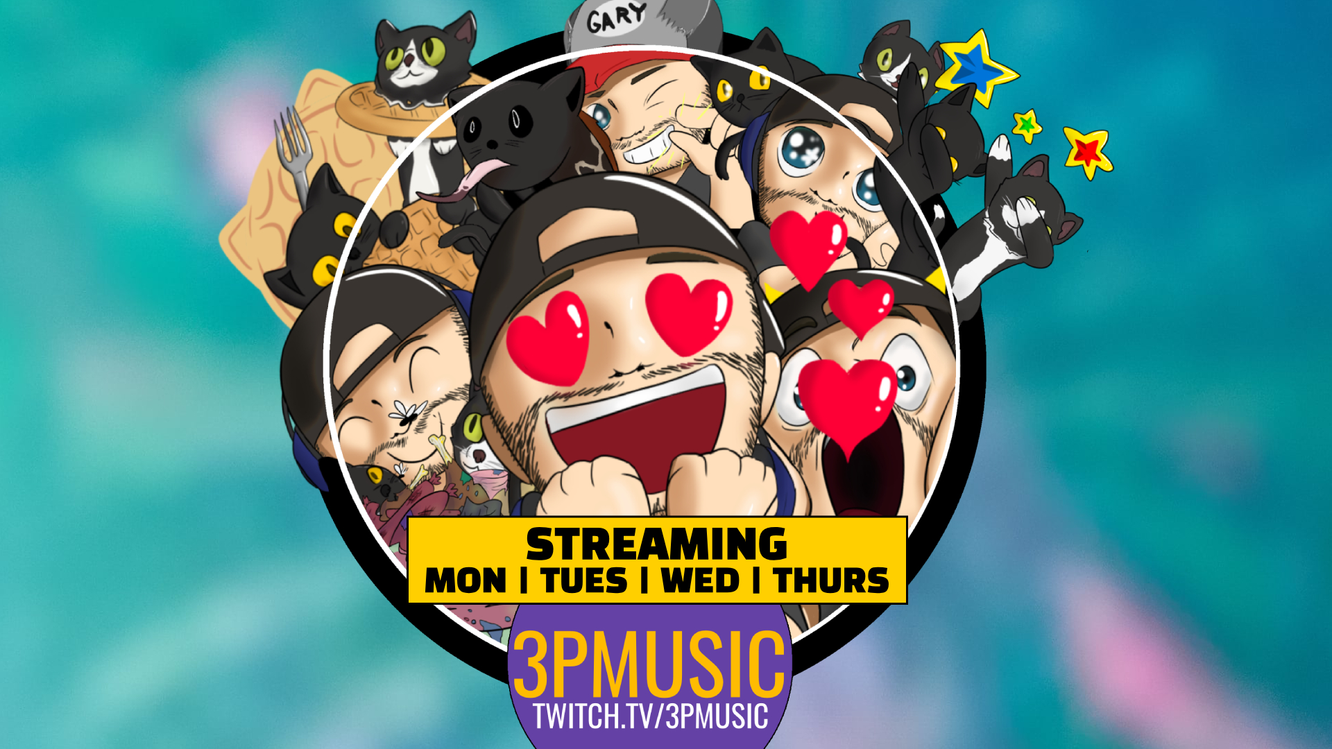 CASEY 3PM CLARK — Twitch Channel Update 07/27/18
