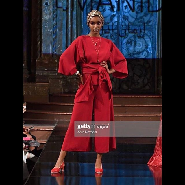 We are still recovering from our amazing time at #nyfw with @emanidil. Never before have I seen a standing ovation 3 minutes into a fashion show.