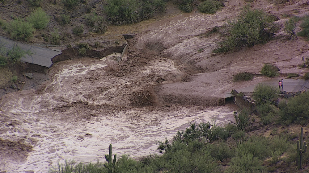 Flooding in Wickenburg