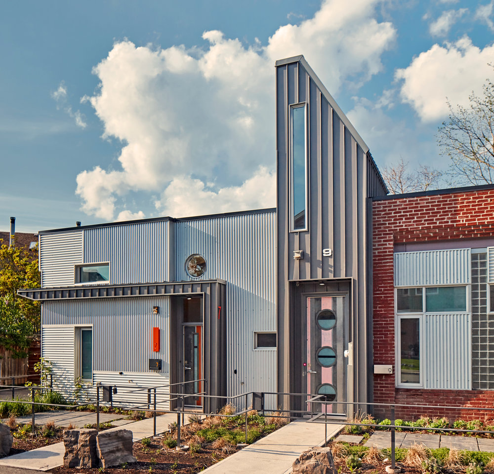 Brock Street Townhouses   - Thier + Curran Architects