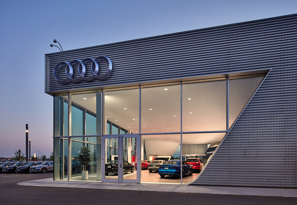 Winnipeg AUDI   - Kasian Architecture