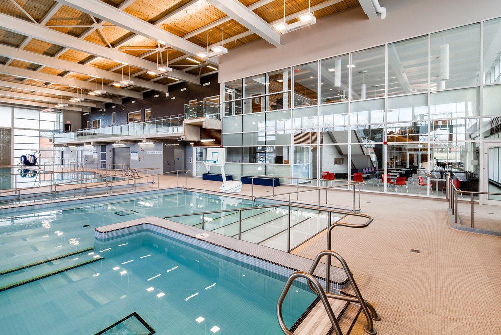Westmount Recreation Centre   - Invizij Architects Inc.
