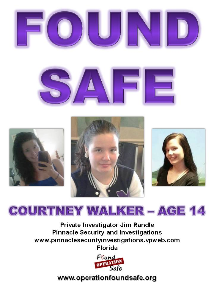 Courtney Walker - age 14 - missing from Tampa FL since 01-01-14 - FOUND SAFE.jpg