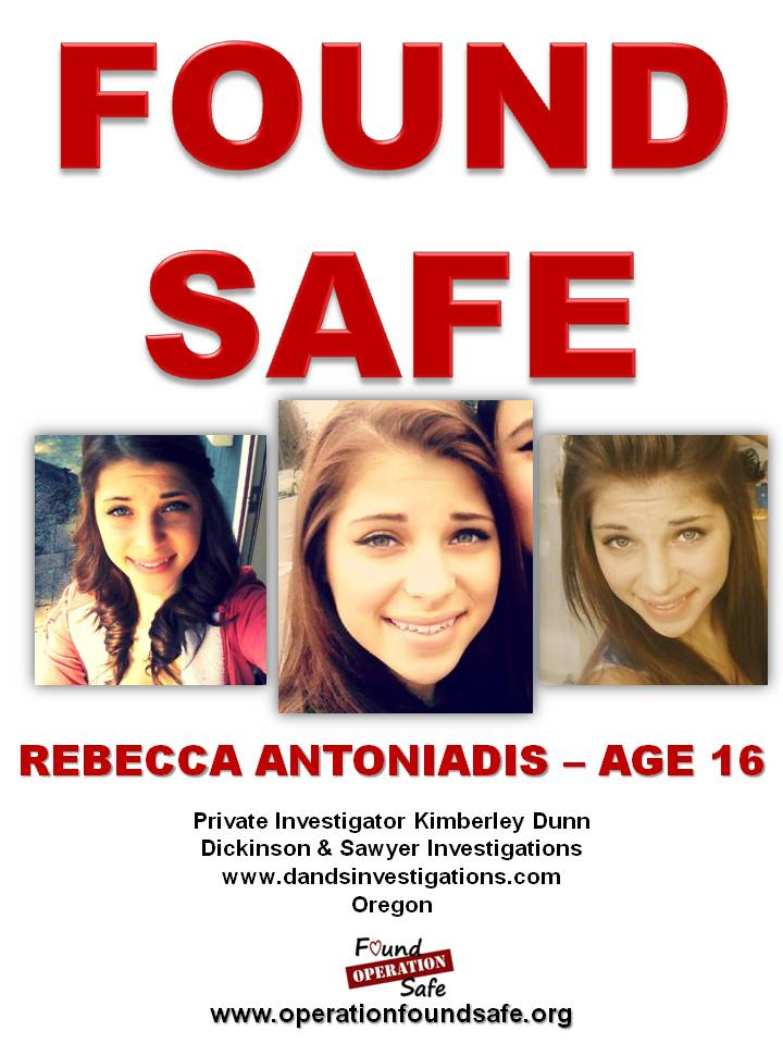 Rebecca Antoniadis - FOUND SAFE - age 16 - missing since 05-13-14 from Portland, OR.jpg