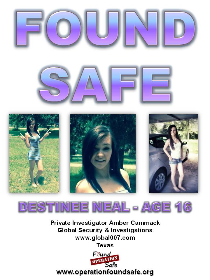 Destinee Neal - age 16 - FOUND SAFE - missing since 07-25-14 from Conroe, TX.jpg