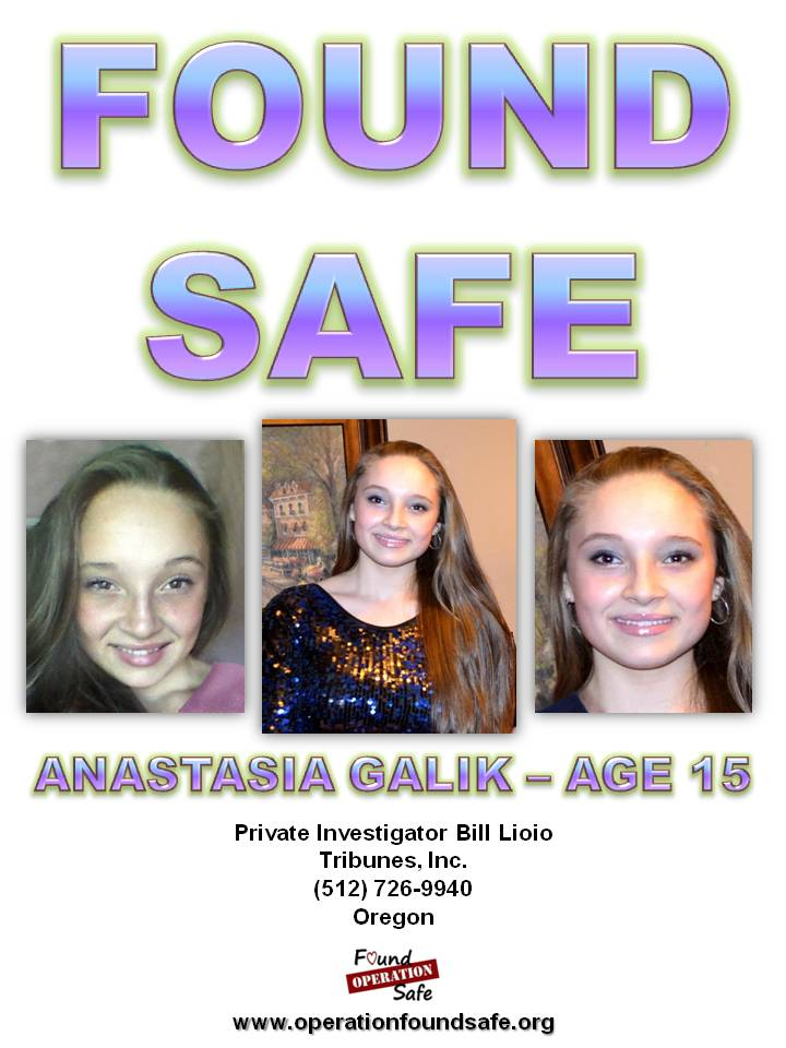 Anastasia Galik - age 15 - FOUND SAFE - missing since 07-11-14 from Portland, OR.jpg