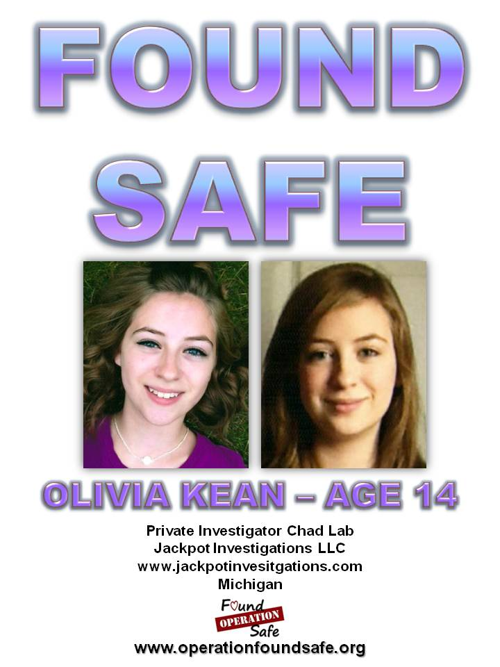 Olivia Kean - FOUND SAFE - age 14 - missing since 10-15-14 from Midland, MI.jpg