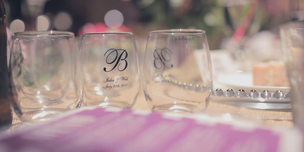 wedding-custom glasses
