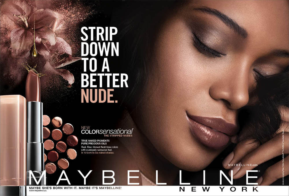 Maybelline: Retouch, Design and Art Direction for Print and Web
