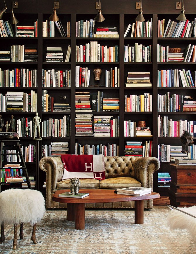 Since most of us don\u0027t have personal libraries in our homes I love bringing this look into a family room or den. & GTL: Ellen\u0027s Library \u2014 204 PARK