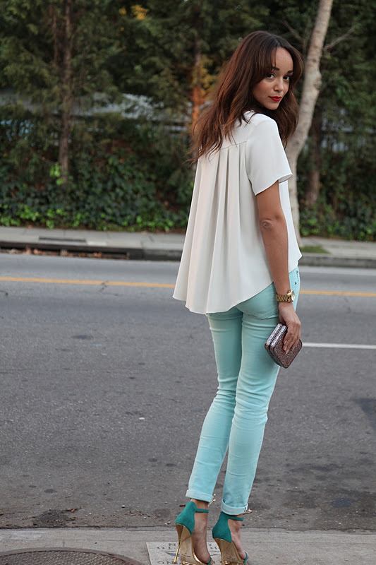 Ahley Madekwe Mint Pants 1 .jpg