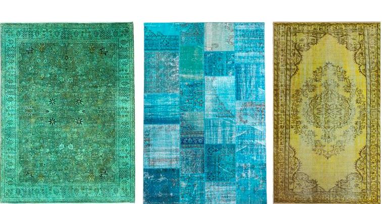 overdyed rugs style