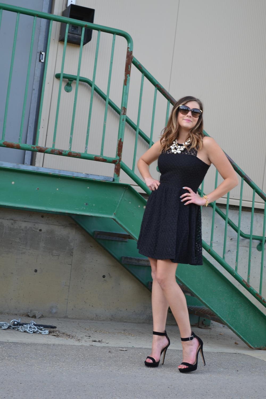 little black dress fashion