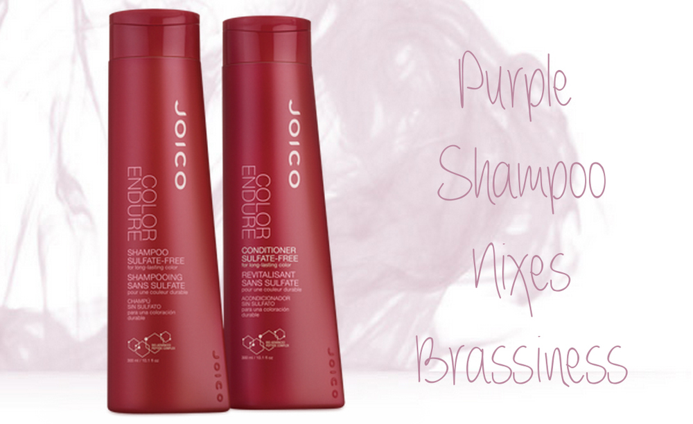 Purple Joico Shampoo For Blondes - 204 Park