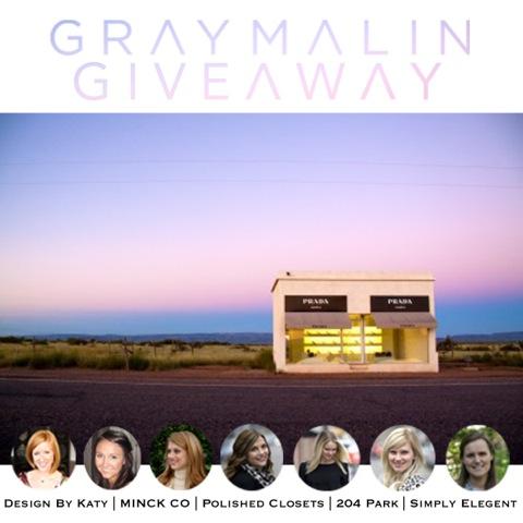 Grey Malin Giveaway - 204 Park