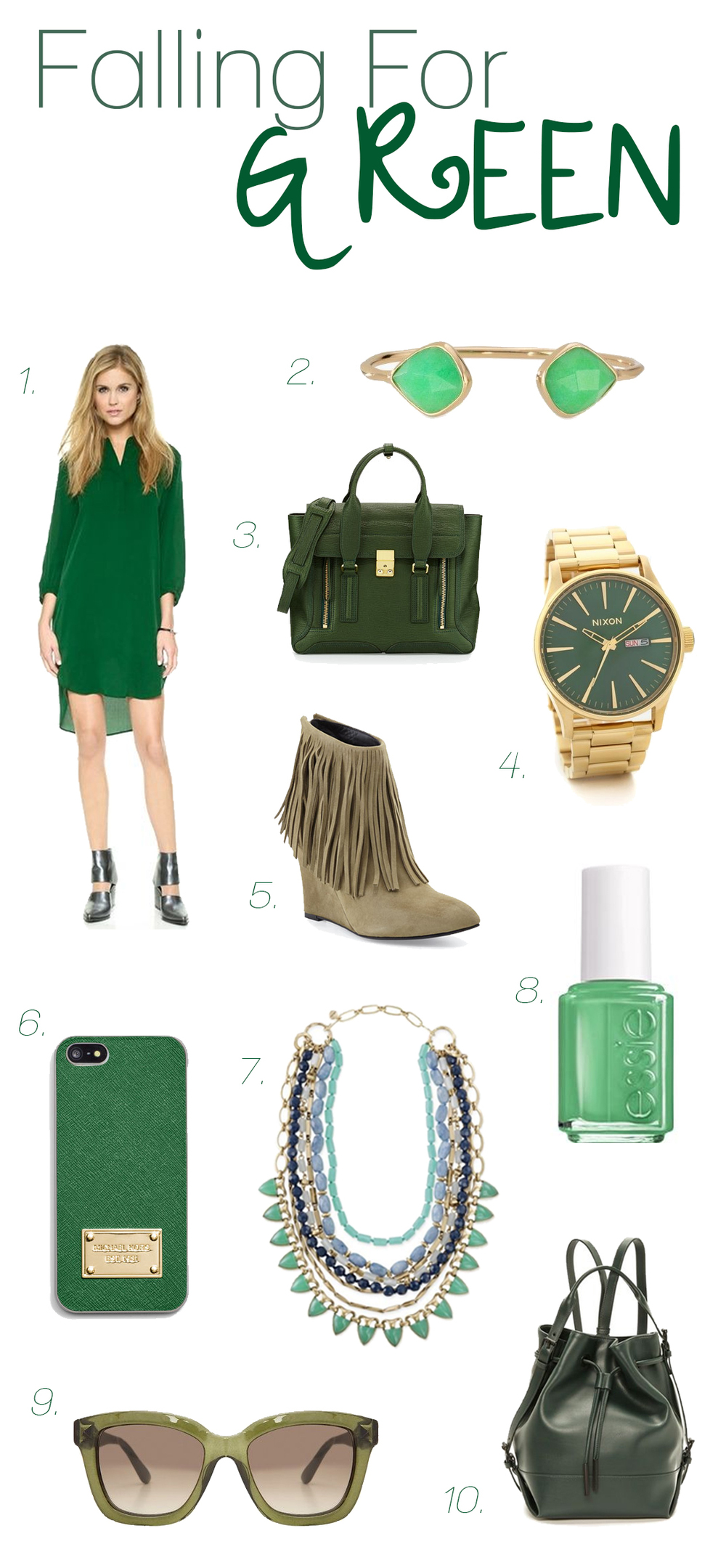 Fall Tends: Green - www.204park.com