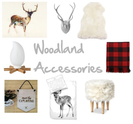 woodland accessories decor
