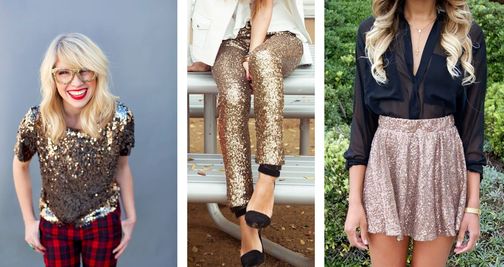 Holiday sequin Style