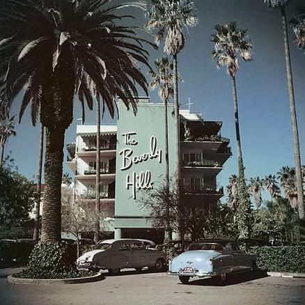 Beverly Hills Print - 204 Park