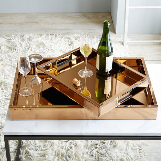 Mirror Tray Decor