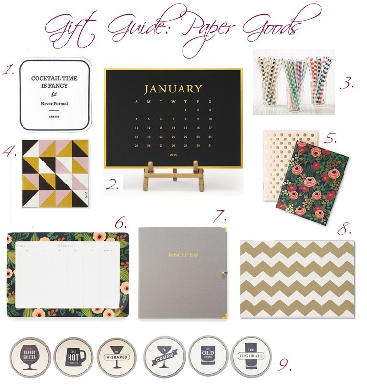 paper gift guide