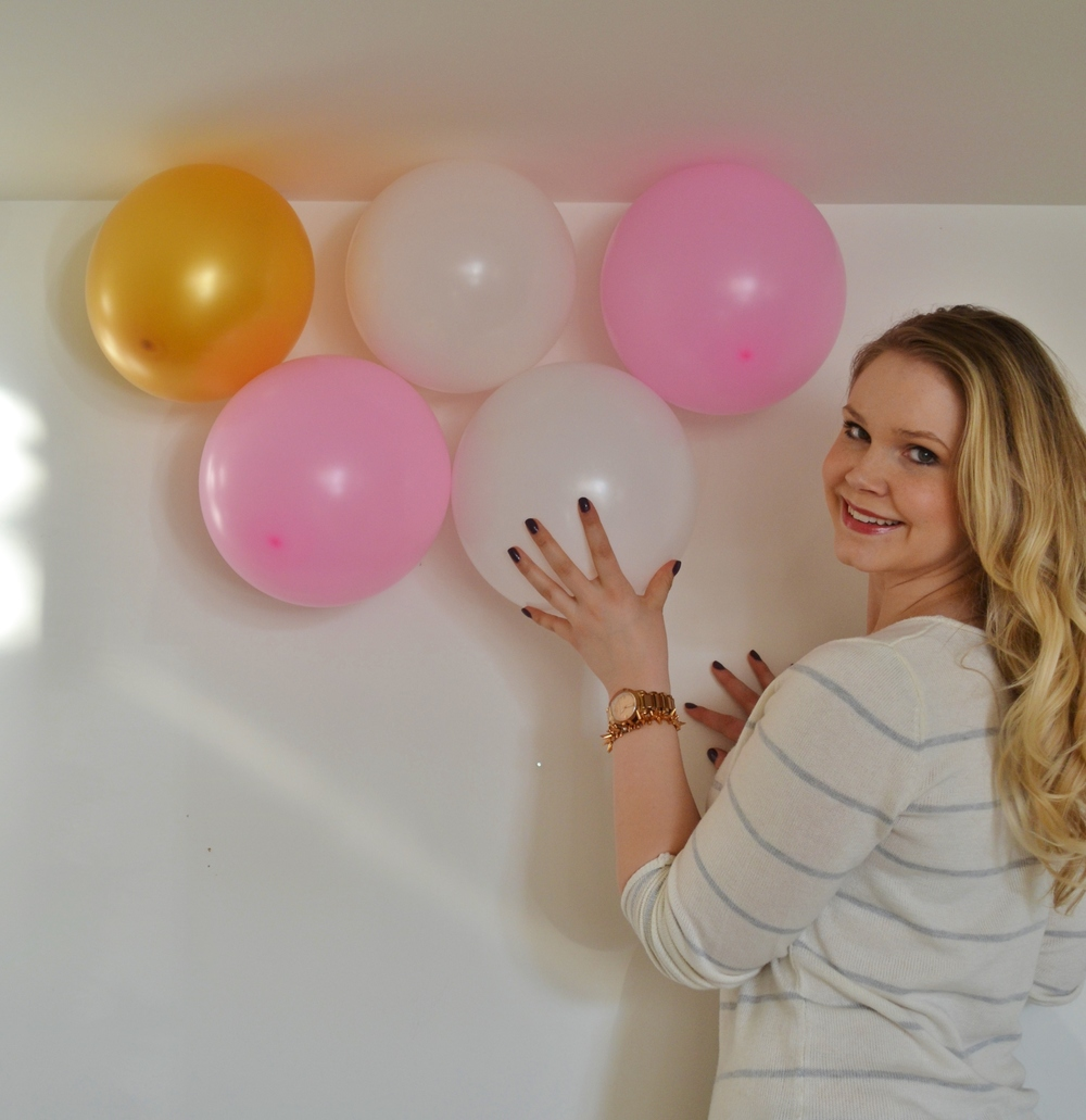 diy balloon wall images