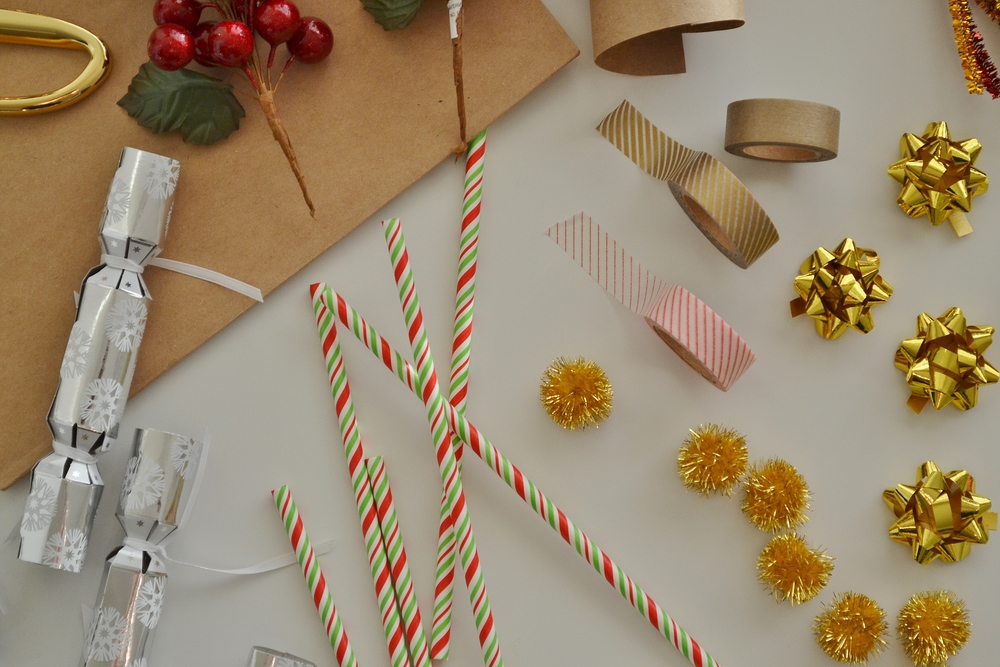 Christmas Gift Wrapped Boxes Christmas Gift Wrap Diy